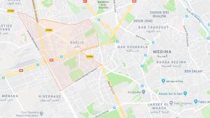 mapa marrakech gueliz