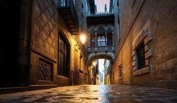 barrio gotico de barcelona