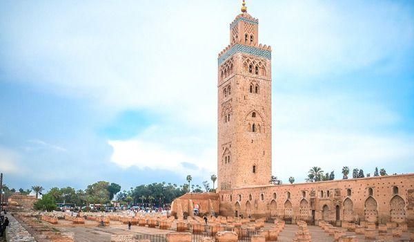 koutoubia en marrakech