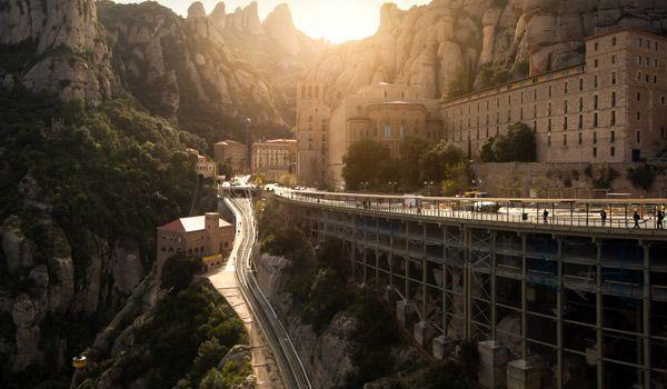 visitar el monasterio de montserrat en barcelona