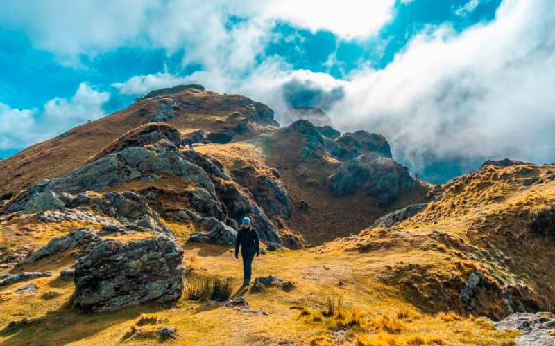 montañas y picos del país vasco